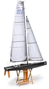 Model Sailboat Design Design Canting Keel Rc Sailboat