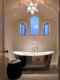 bathroom ceiling lights Bathroom Contemporary with bathroom ...