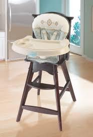 carter s classic comfort reclining wood high chair whisper