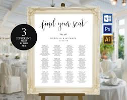 Seating Chart For Wedding Wedding Seating Chart Template Wpc7 Invitation Templates