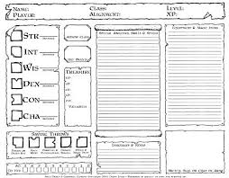 dnd 3 5 character sheet hand tooled old school character sheet dysons dodecahedron