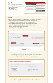 how to pay meralco bill using
