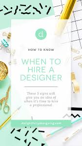 Jewellery Designing Stationery How To Know When To Hire A Designer Delightfully Designing