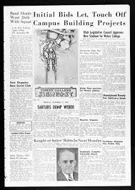 Signpost (Weber, Utah), 1949-10-171 - Weber State Student Newspapers 1905  to Present -