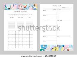 Printable Weekly Calendar Vector - Download Free Vector Art, Stock ...