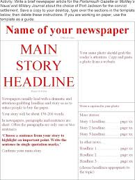 Office Newspaper Template Best Photos Of Newspaper Template Office Free Word 2007 Microsoft