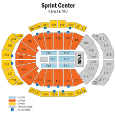 Big 12 Seating Chart Sprint Center Tickets Sprint Center Events Concerts In