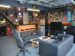 Impressive Man Cave Ideas Designs With 1f6325c45d5bcaaf In Man Cave Ideas  in Garage Man Cave