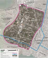 West Oakland Specific Plan Planning And Zoning City Of