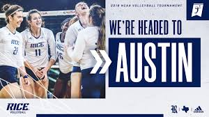 Volleyball To Face Texas State In Ncaa Tournament Rice University