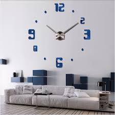 Small Picture Aliexpresscom Buy 2017 Masi Rui big wall clock living room