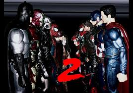 batman v superman v iron man v captain america dawn of the civil war with justice part 2 batman superman iron man 2
