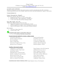 Medical Office Assistant Resumes Samples Resume Templates For