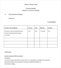 Free Budget Form Gorgeous Grant Budget Template Compuplus