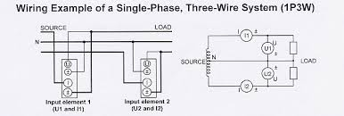 technical library application notes how to measure electrical Three Phase Power Wiring Diagram single phase and three phase power measurement three phase power wiring diagram