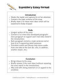 Sample Expository Essay Format Expository Essay Examples Good Essay Topics