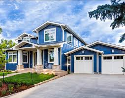 blue exterior paintModern Blue And White Best House Paint Colors Exterior That Can Be