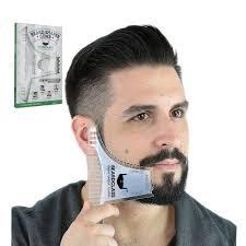 Bellylady Beard Shaping จดแตงทรงผมแมแบบ Beard หวผชายโกนหนวดเครองมอสำหรบผม Beard Trim แมแบบหว