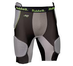 Riddell Girdle Size Chart Apparel Shop Riddell