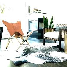faux animal skin rug fake cowhide rug faux animal skin rugs hide rawhide ivory and charcoal