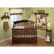 52 percent off disney winnie the pooh brown baby crib set with 4 piece bedding set