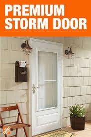 aluminum storm doors storm door