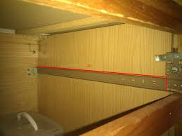 Replace Kitchen Cabinets Cabinets Will This 22 Drawer Slide Replace The Slide Mounted To