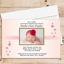 Print Baby Announcement Cards Baby Birth Cards Magdalene Project Org