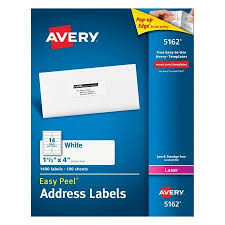 Free Mailing Label Cool AveryR Easy PeelR Address Labels For Laser Printers 48R 4848