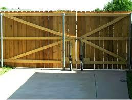 wood fence driveway gate. Brilliant Fence Fence  For Wood Fence Driveway Gate
