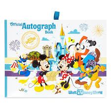 Disney Book Light Diaries Journals Notebooks Disney Mickey Autograph Book