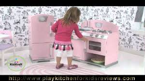 kidkraft pink retro kitchen and refrigerator 53160 review kidkraft kitchen review you