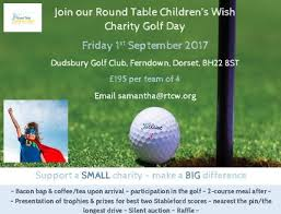 charity golf day in aid of round table children s wish
