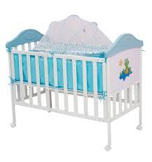 <b>Кровать BabyHit Sleepy Compact</b>, цвет: белый/голубой/динозаврик