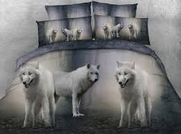 grey wolf size grey wolf animals 3d printed comforters bedding sets quilt duvet