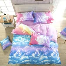 cloud bedding set sunset sky heaven pastel cloud bedding set cloud crib bedding set