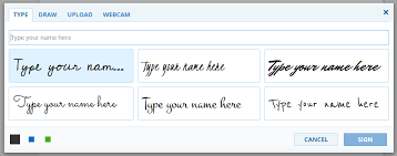 how to create online signature how to create electronic signature