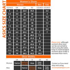 Asics Running Shoes Chart Peninsula Conflict Resolution Center