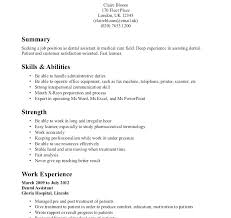 Dental Assistant Resume Objective Example Of Good Resumes Dental Assistant Examples Objective 71