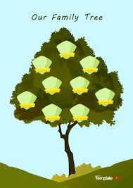 Family Tree Layout Design 50 Free Family Tree Templates Word Excel Pdf