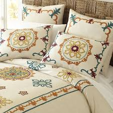 Pier One Imports Bedroom Furniture Riya Suzani Duvet Cover Sham Pier 1 Imports Furniture