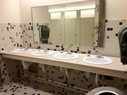public bathroom mirror. Remarkable Two Way Mirror Public Bathroom