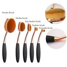 vova crazy promotion 5pcs soft toothbrush style eyebrow brush foundation eyeliner makeup brushes mother s day gift