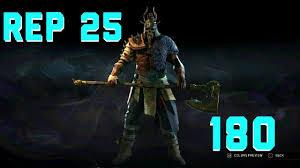 For Honor Gear Chart Season 3 For Honor Rep 25 Raider 180 Gear High Level Duels