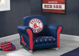 Boston Red Sox Kids Upholstered Chair Delta Children