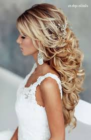 Long Hair Wedding Hairstyle