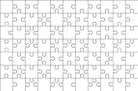 Printable Jigsaw Puzzle Maker 12 Piece Jigsaw Puzzle Template
