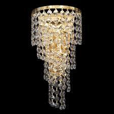 spiral large gold wall light crwspi02190gd
