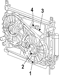 parts com® dodge challenger cooling fan oem parts 2010 dodge challenger se v6 3 5 liter gas cooling fan