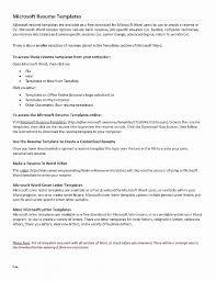Resume Inspirational Microsoft Templates Resume Wizard Microsoft
